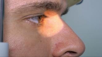 A closeup look at an eye