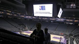NBA stadium