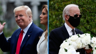 President Trump, Former VP Biden Memorial Day 2020