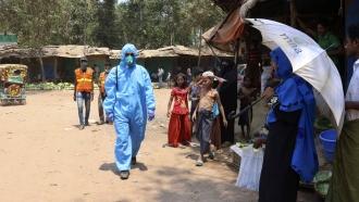 U.N. Agencies Fear COVID-19 Danger For Vast Rohingya Refugee Camps