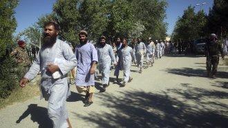Freed Afghan Taliban prisoners
