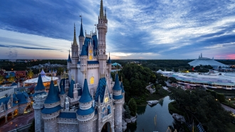 Cinderella's Castle in Walt Disney World