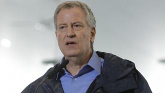 New York City Mayor Bill de Blasio