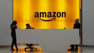Amazon office lobby