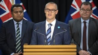 New Zealand Health Minister David Clark