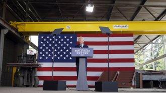 Joe Biden at podium