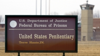 A United States penitentiary in Terre Haute, Indiana.