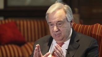 U.N. Secretary-General António Guterres