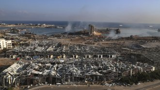 Site of Beirut Explosion
