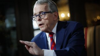 Ohio Gov. Mike DeWine got a false positive test result, fueling fire for skeptics on the test's reliability.