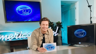 """American Idol"" host Ryan Seacrest works from home."