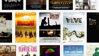 Gallery of movie posters from African filmmakers.