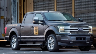 Ford electric truck