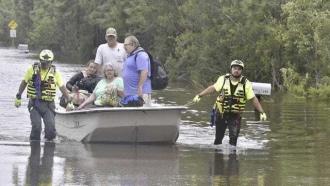 Response team helps rescue residents in Pensacola, Florida