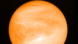 May 2016 photo of Venus, seen from Japan Aerospace Exploration Agency's Akatsuki probe.
