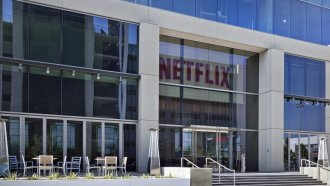 Netflix headquarters in Los Angeles, California.
