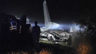 The An-26 plane crashed late Friday, killing 26 people.