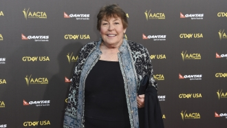 Australian-born singer Helen Reddy attends the 2015 G'DAY USA GALA at the Hollywood Palladium, in Los Angeles.