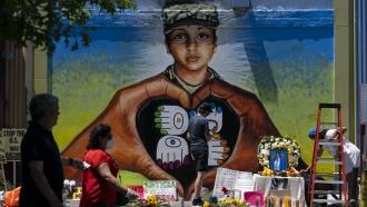 Mural of slain Army Spc. Vanessa Guillen