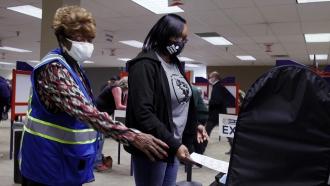 Voting underway in Hamilton County, Ohio