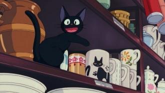 """Jiji the black cat in """"Kiki's Delivery Service"""""""