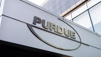 Purdue Pharma logo.