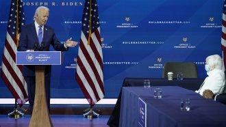 President-elect Joe Biden and Janet Yellen