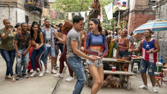 """Image released by Warner Bros. Picures shows a scene from the upcoming film """"In the Heights."""""""