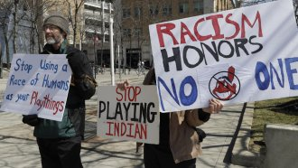 Native Americans Hope More Teams Follow Cleveland's Lead