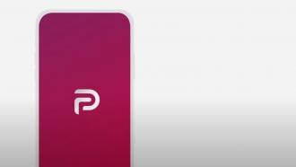 Parler's logo