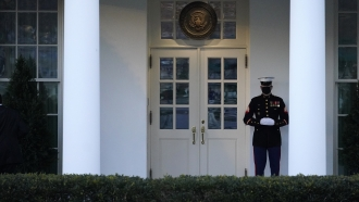 White House doors