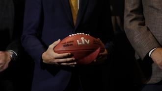 Super Bowl LV football