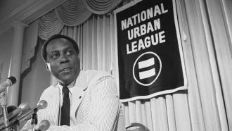 Vernon Jordan, President of the National Urban League,