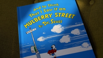 """""""And to Think That I Saw It on Mulberry Street"""" by Dr. Seuss"""