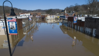 Flooding in Beattyville, Kentucky