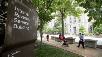 The IRS building in Washington, DC