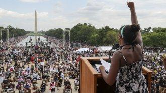 Speaker at 2020 March on Washington