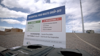 Facility that accepts food waste