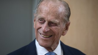 Prince Philip, who died Friday at the age of 99.