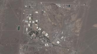 Iran's Natanz nuclear facility.