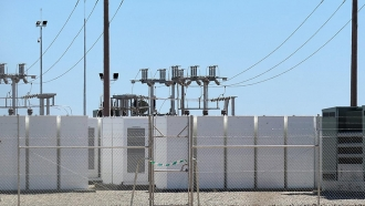 grid-scale battery storage