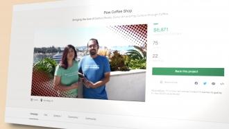 Couple raises money for business