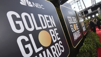 Golden Globe Awards signs