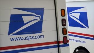 U.S.P.S. vehicles