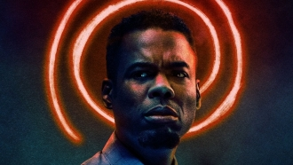 "Chris Rock in poster for ""Spiral: From The Book of Saw"""