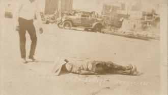 Victim of Tulsa Massacre