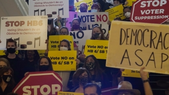 Texas Democrats Stage Walkout to Stop Voting Bill