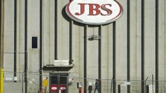 JBS meatpacking plant in Greeley, Colorado