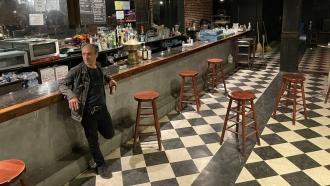 Dante Ferrando owns the Black Cat club in Washington, D.C.