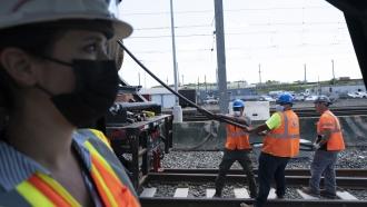 Railway Construction in New York City